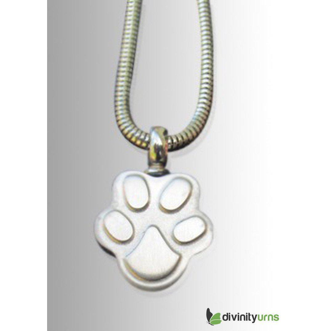 Paw Cremation Keepsake Pendant, [product_type] - Divinity Urns