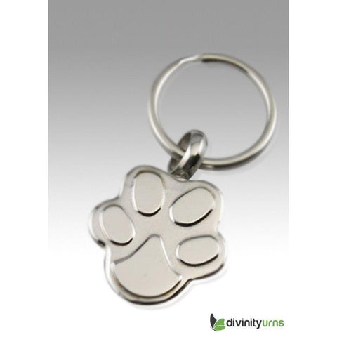 Paw Keepsake Cremation Keychain, [product_type] - Divinity Urns