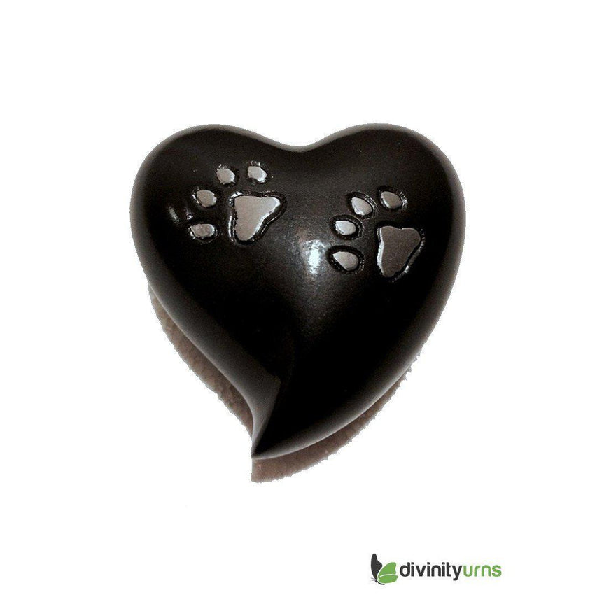 Paw Pet Keepsake Cremation Urn - Grey-Pet Urn-Divinity Urns