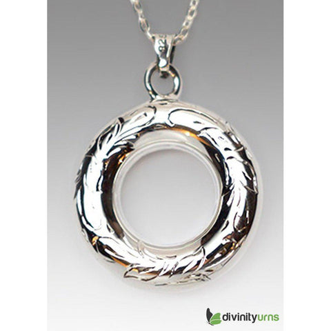 Silver Circle Of Love Jewelry,  - Divinity Urns.