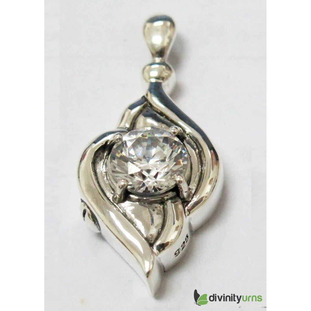 Silver Diamond Jewelry, [product_type] - Divinity Urns