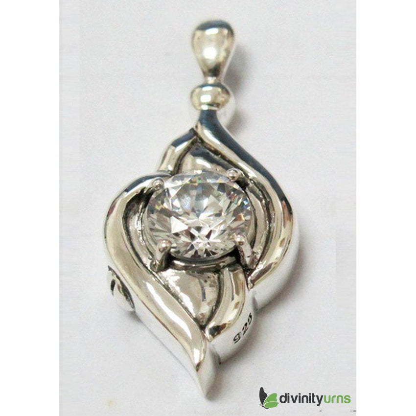 Silver Diamond Jewelry-Divinity Urns