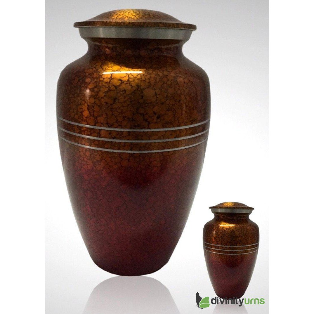 Sunset Drop Alloy Cremation Urn, Alloy Urns - Divinity Urns