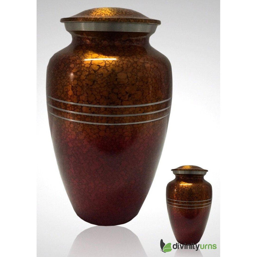 Sunset Drop Alloy Cremation Urn-Alloy Urns-Divinity Urns