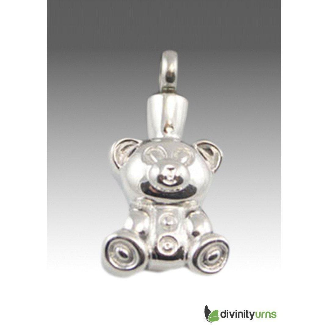 Teddy Bear Premium Keepsake Pendant, [product_type] - Divinity Urns