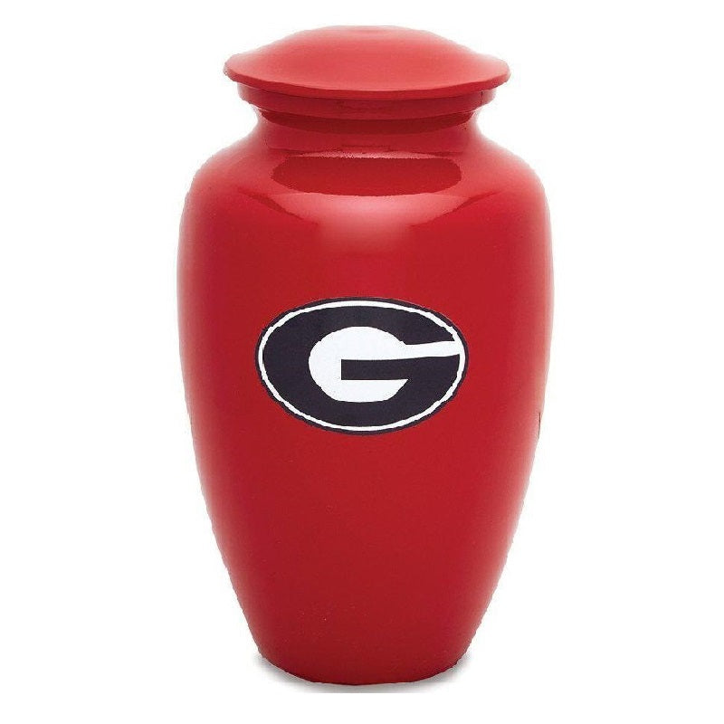 University Of Georgia Classic Sports Cremation Urn, Sports Urn - Divinity Urns.
