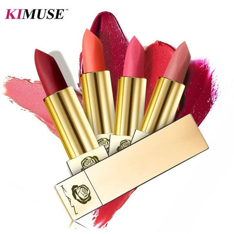 KIMUSE Gold Luxury Smooth Lipstick