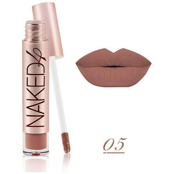 Naked Matte Color Liquid Lip Gloss