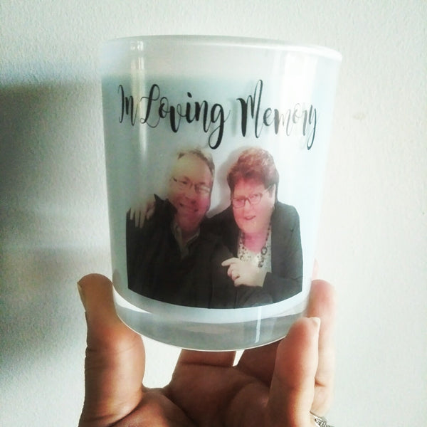 Design your own photo candle