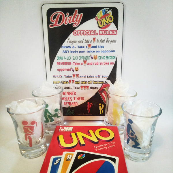 Drunk uno couples edition