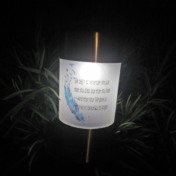 Photo Memorial light keepsake