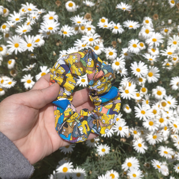 Simpsons allover scrunchie