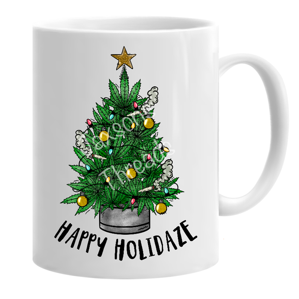 Happy holidaze mug