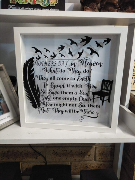Mothers day memorial frame