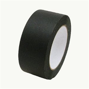 PERMACEL MATTE BLACK PAPER TAPE 48MM