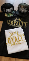 Copy of SHORT SLEEVE T-SHIRT LOYALTY WHITE