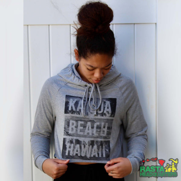 Kailua Beach Hawaii Hoodie - Rasta Headquarters