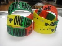One Love Rasta Custom Wristband Accessories