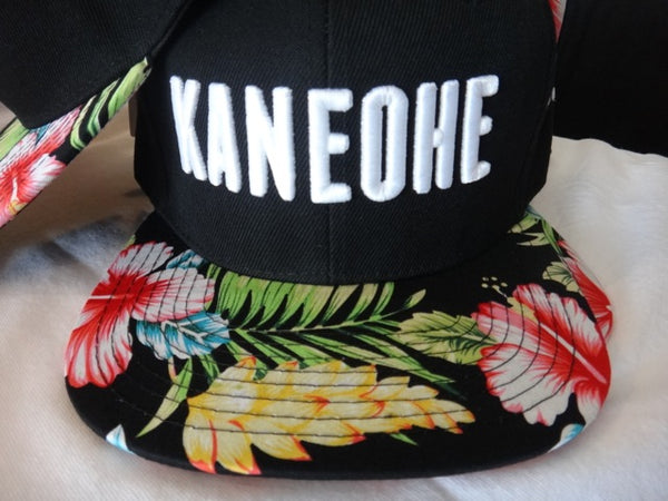 Kaneohe Hometown Snapback Hats