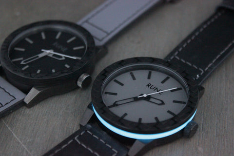 Apollo Carbon Fiber Lume Watch