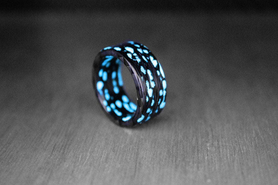 Alien Carbon Fiber Ring