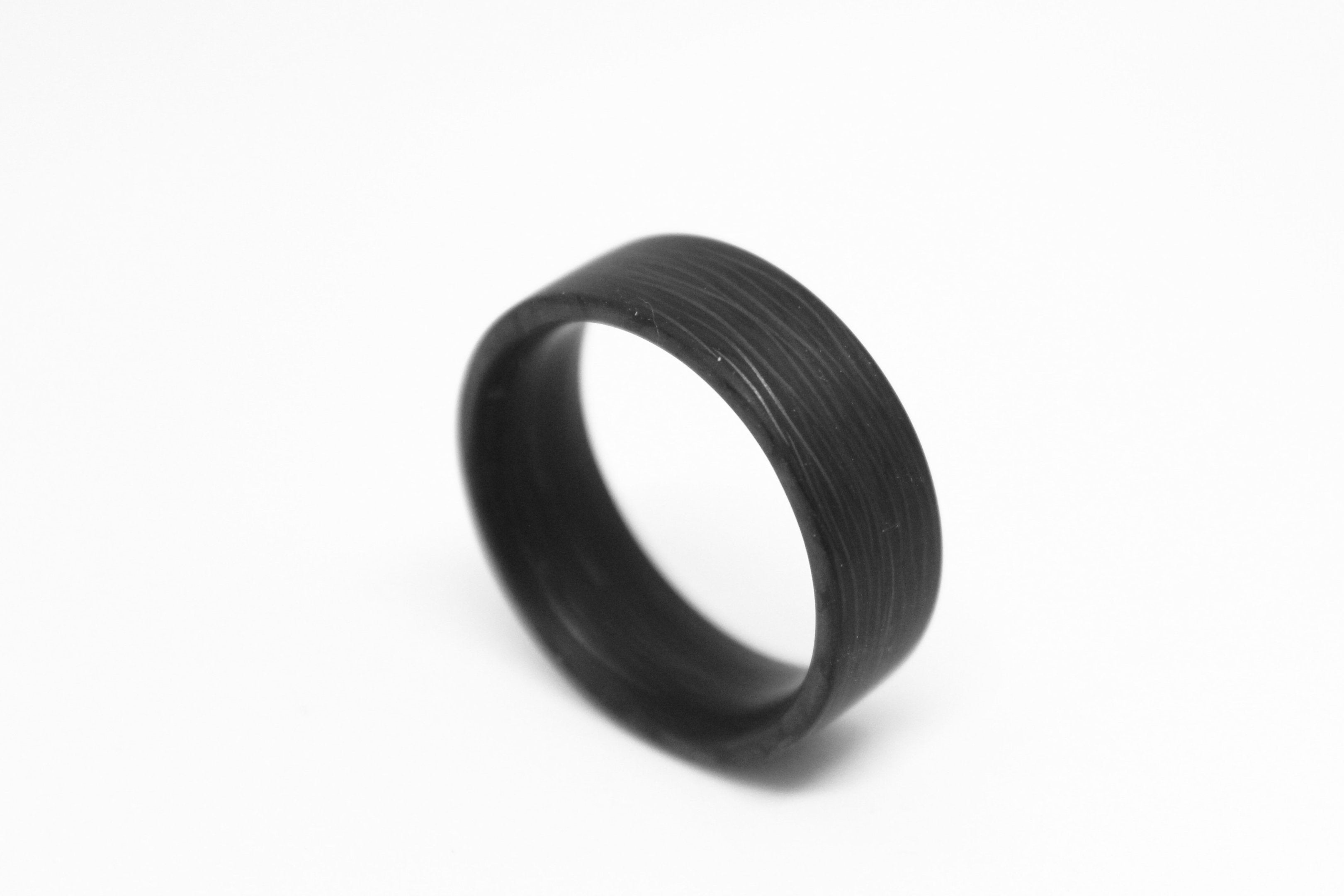 Size 8 Space X Carbon Fiber Ring