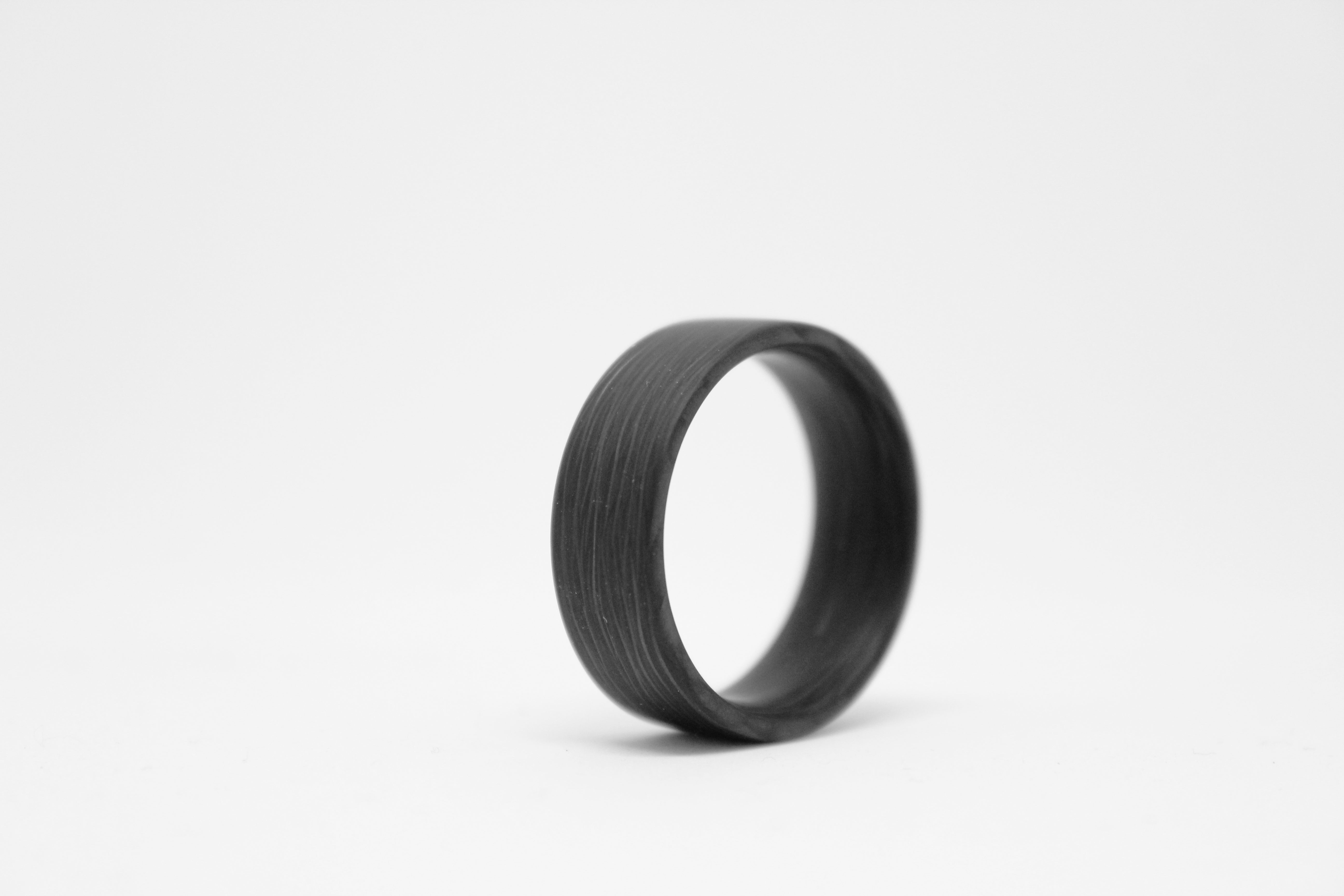 Size 13.5 Space X Carbon Fiber Ring