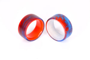 Red Super Man Super Lume Ring