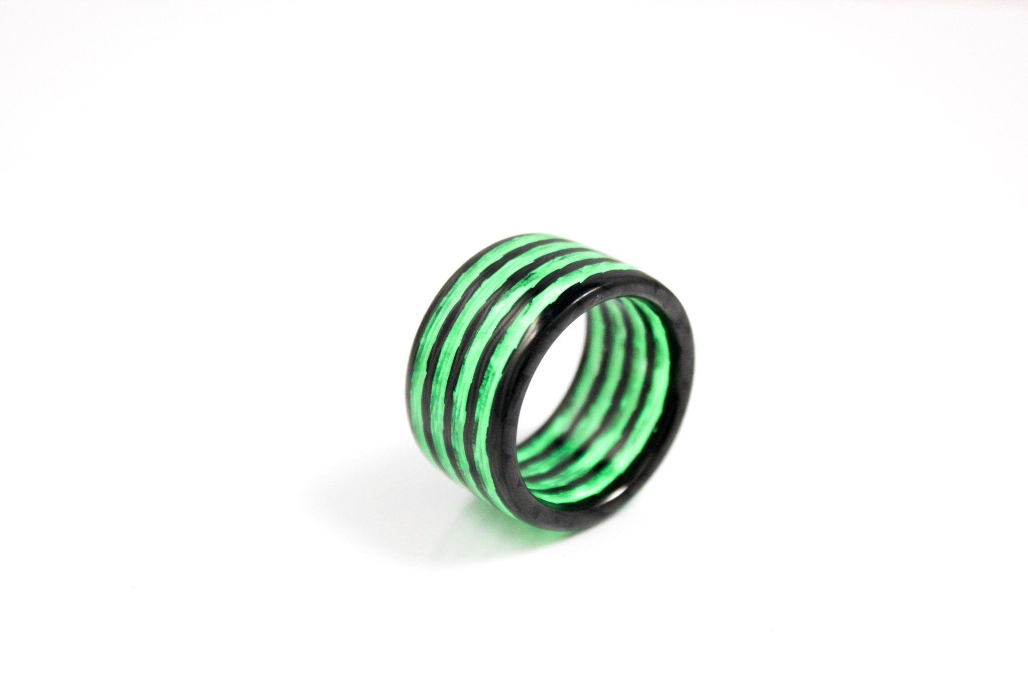 Aurora Carbon Fiber Ring