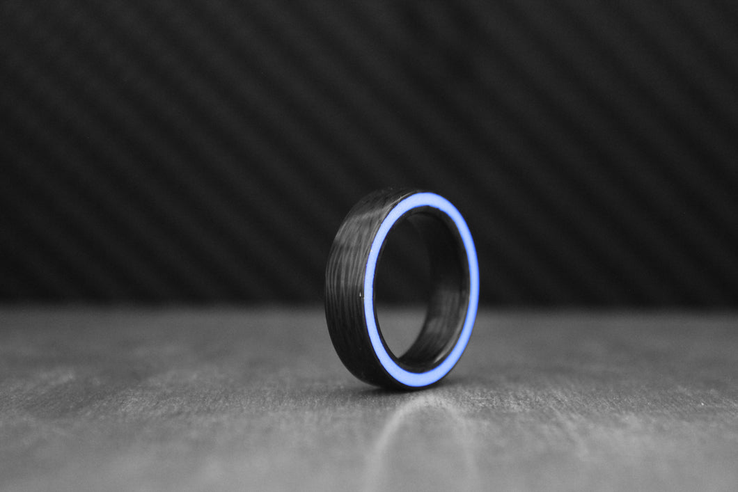 Purple Gateway Carbon Ring