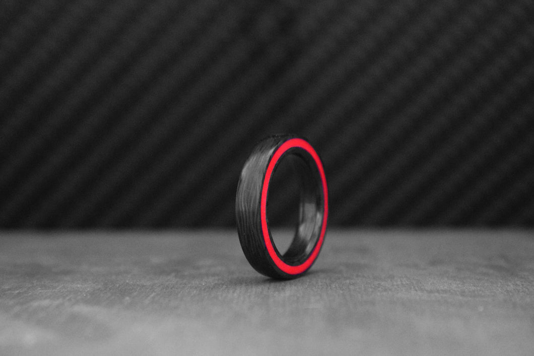 Fire Gateway Carbon Ring