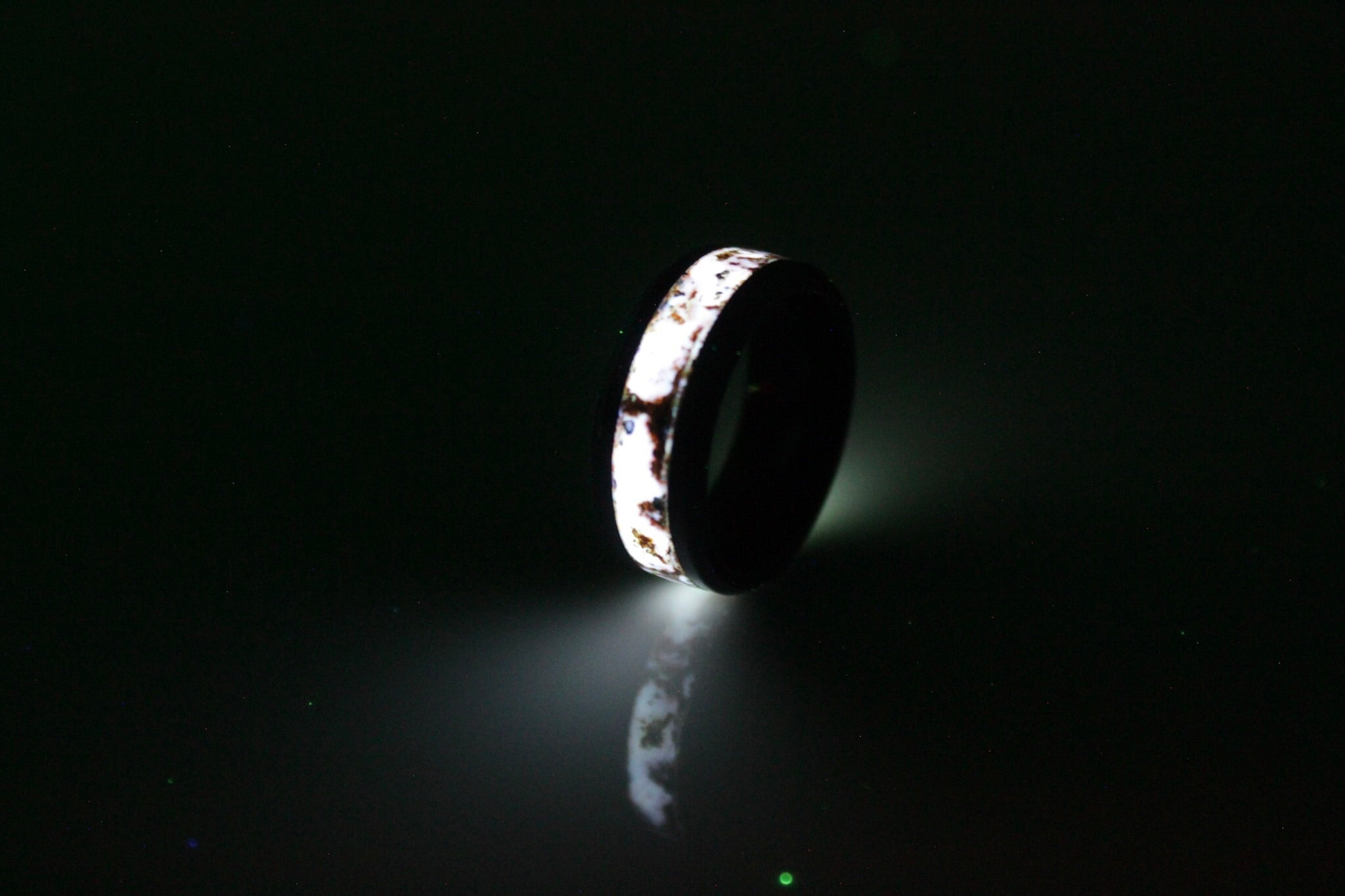 The Pearl Inlay Ring