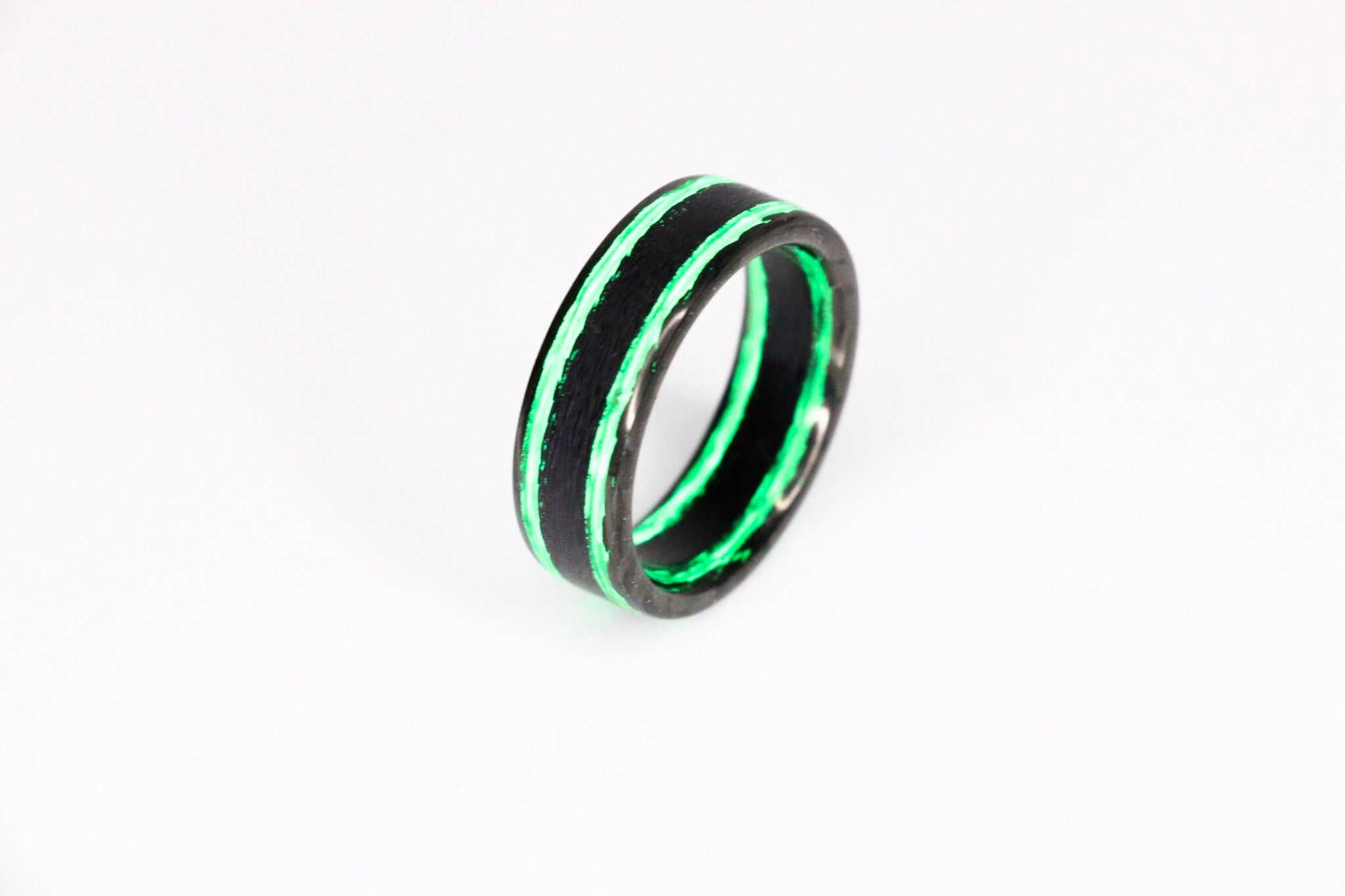 Joker Metallic Carbon Fiber Ring