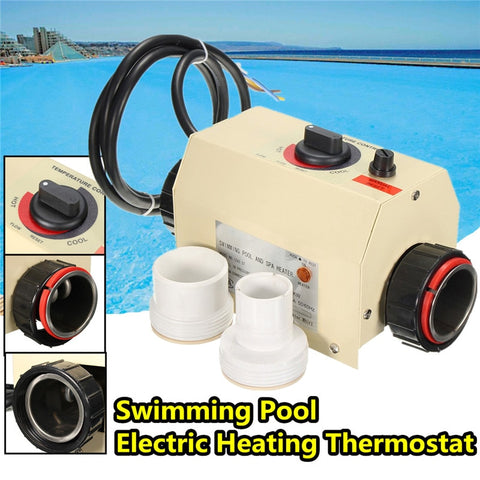 SPA Heater, 3KW Electric, Thermostat 220V
