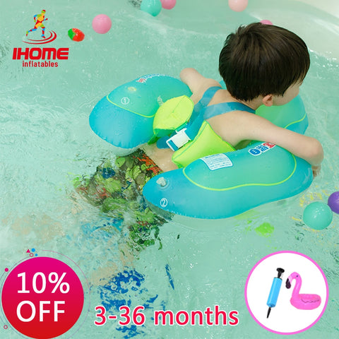 Kids Relaxing Baby Inflatable Swimming Circle with Gifts Toys