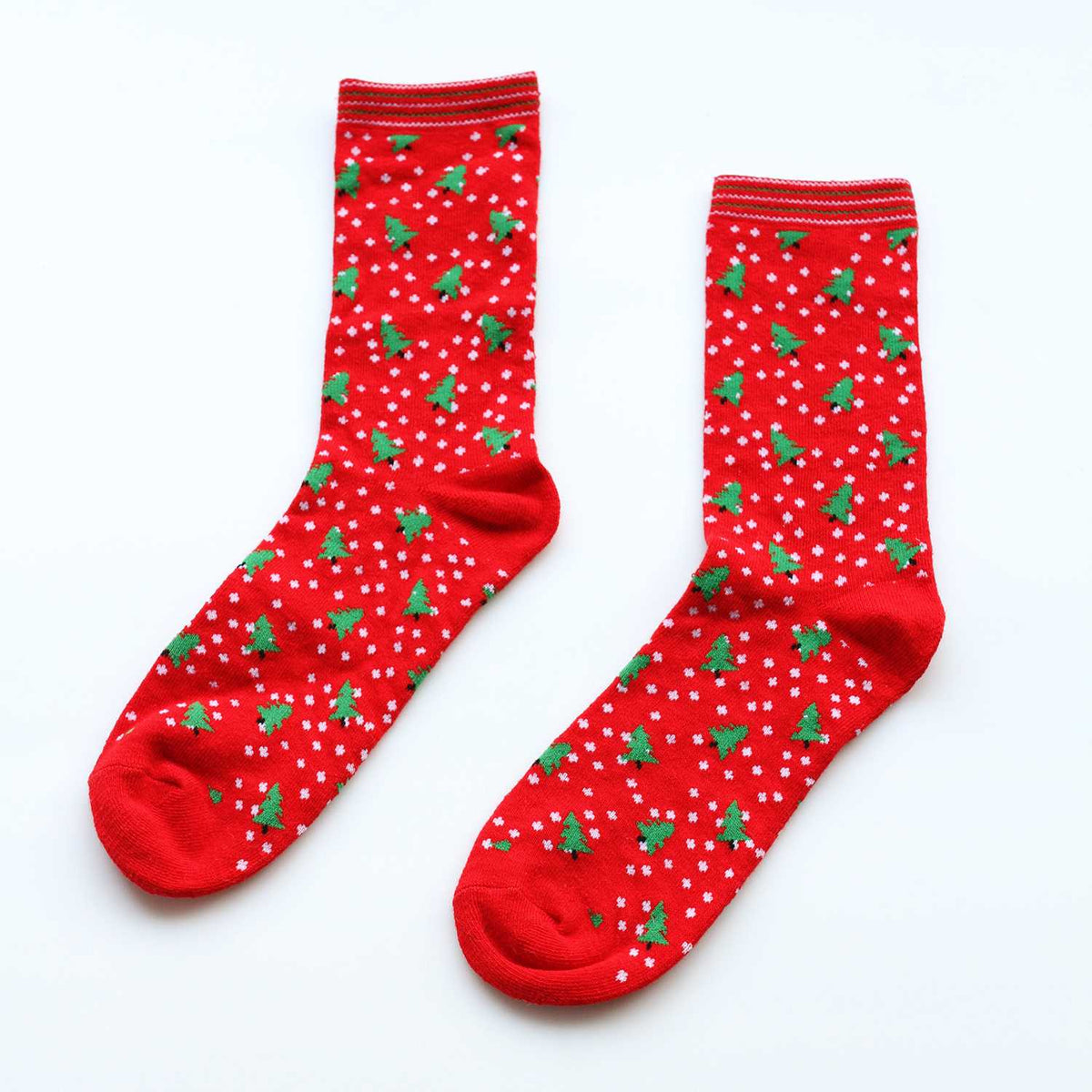 Free Gift For Order Over $100 -Long Cotton Socks Set - worthtryit.com