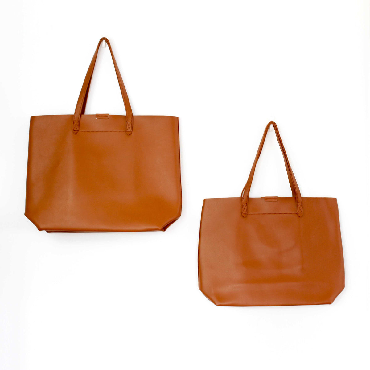 Oversized Tote Bag - Burnt Orange - worthtryit.com