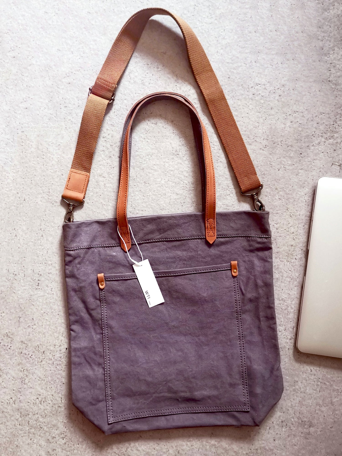 Canvas Transport Tote Bag (L)