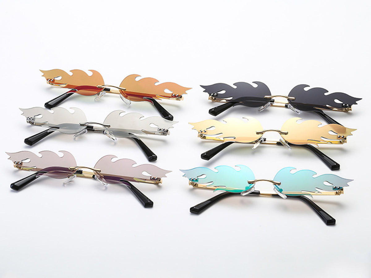 Fire Small Sunglasses - worthtryit.com