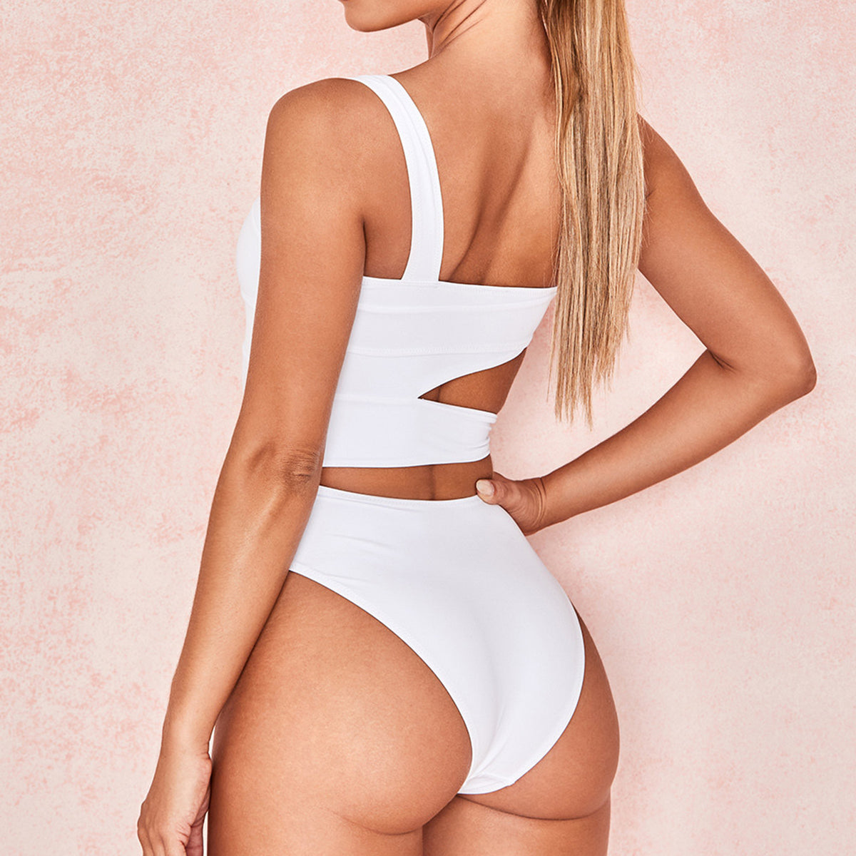 Side Tie One Piece Swimsuit - worthtryit.com