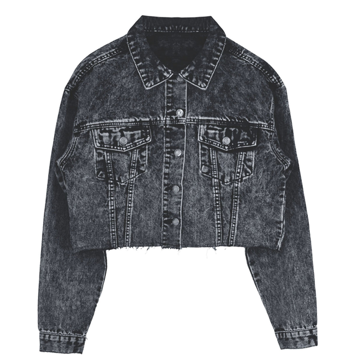 Denim Short Jacket TS20
