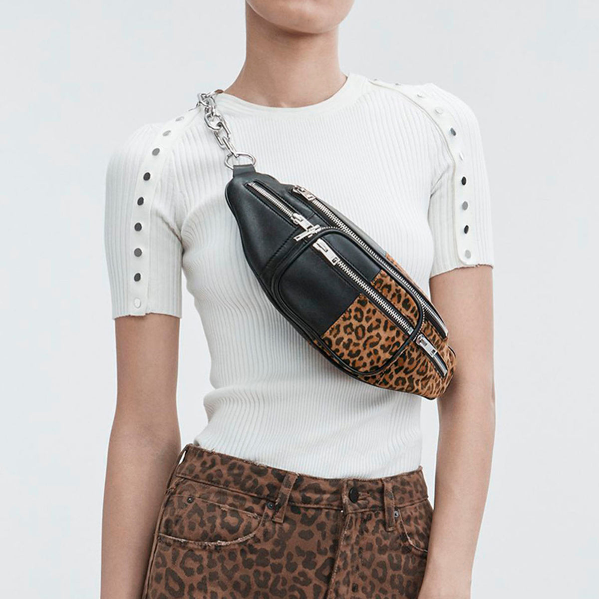 Faux Leather Fanny Pack - worthtryit.com