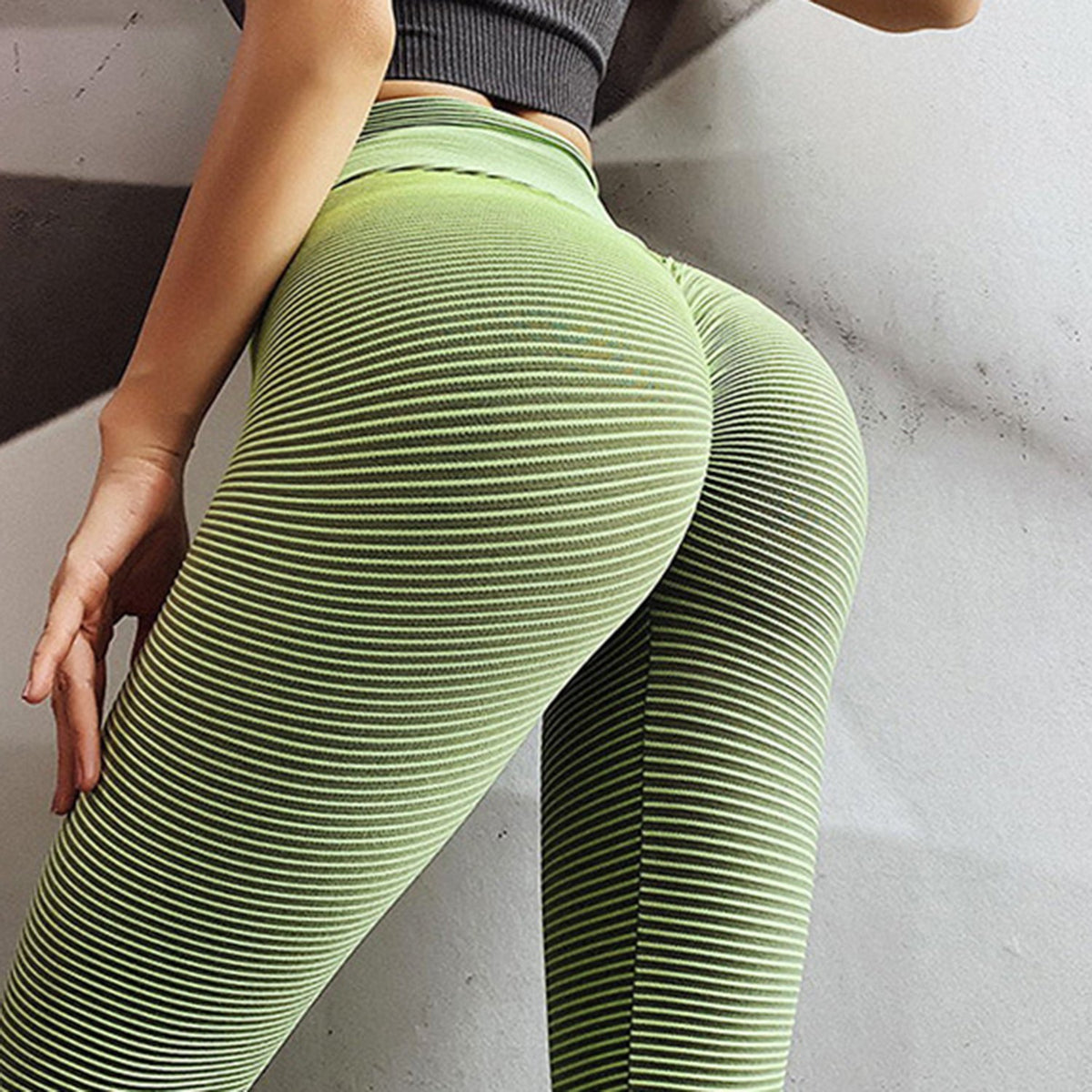 Textured Butt Lift peach butt Fitness Pants Yoga Pants - worthtryit.com