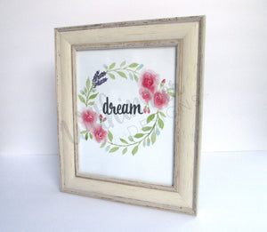 "Spring Inspired ""Dream"" Print-Featured in Cottages & Bungalows Feb/March Issue"