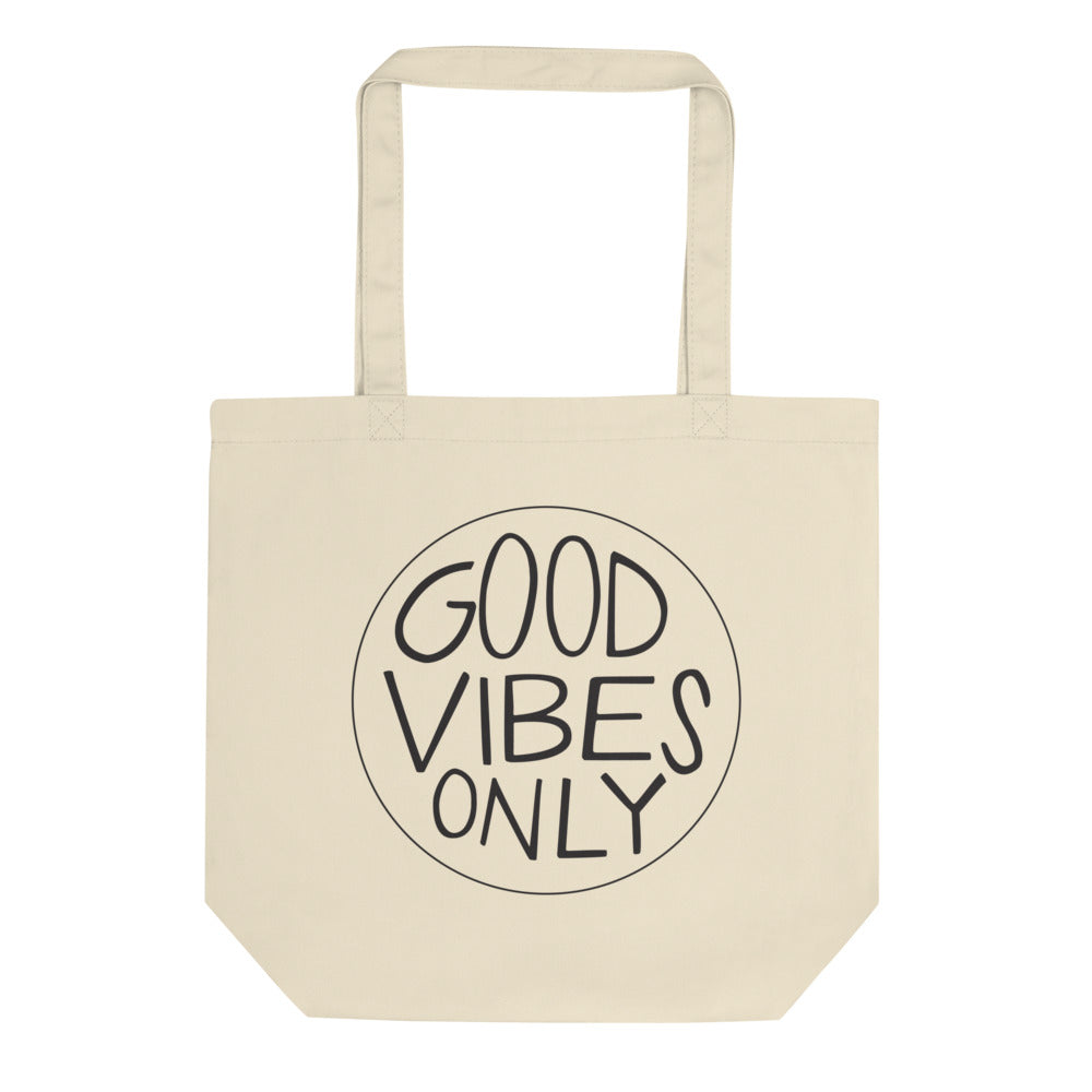 "Eco Tote Bag ""Good Vibes"""