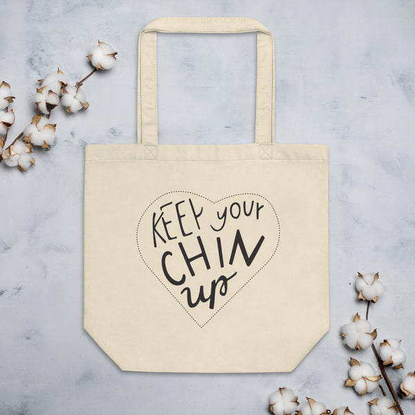 "Eco Tote Bag ""Chin up"""