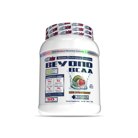 EHP Labs Beyond BCAA Kiwi Strawberry 50 Serves Tub