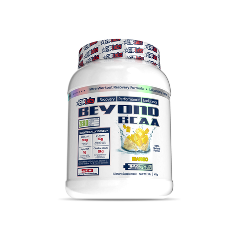 EHP Labs Beyond BCAA Mango 50 Serves Tub