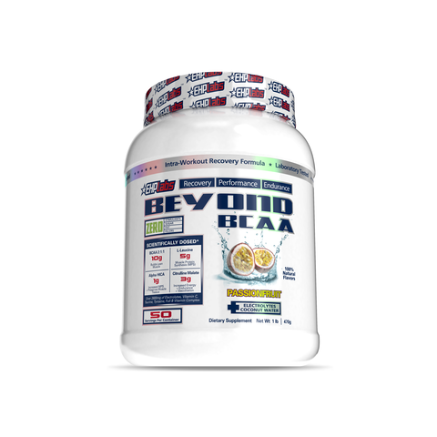 EHP Labs Beyond BCAA Passionfruit 50 Serves Tub