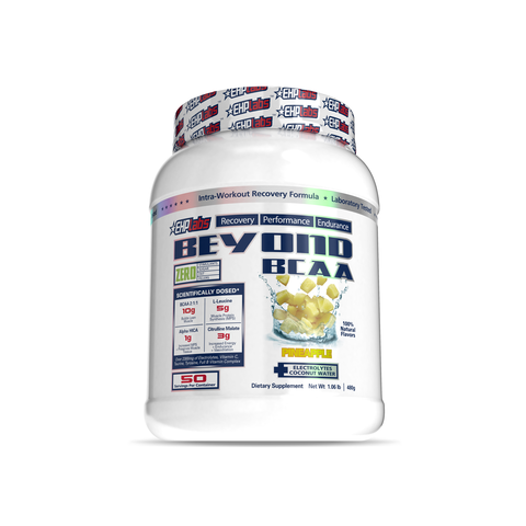EHP Labs Beyond BCAA Pineapple 50 Serves Tub